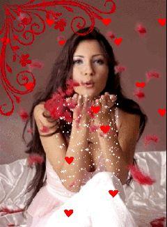 """blusoloblu: """" Stupenda…..diffondere cuorici ….diffondere il profumo dell' amore nell'etere…. Amore puro incondizionato tutto intorno…. Ma che romantica questa domenica mattina !!!! Saro' malata di sicuro !!! Buona Domenica Blusoloblu """""""