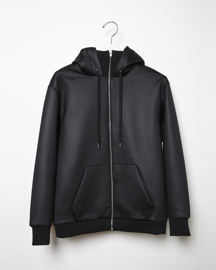 T BY ALEXANDER WANG | Shiny Bonded Fleece Sweatshirt | Shop at La Garçonne