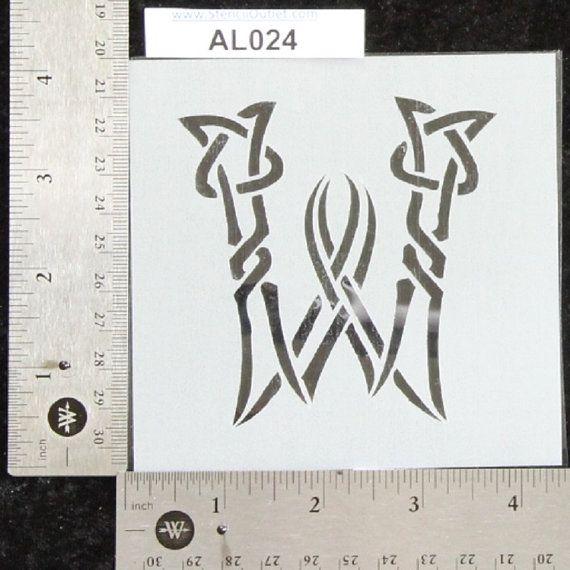 The 27 best images about Celtic Knot - Alphabet - Letter Stencils ...