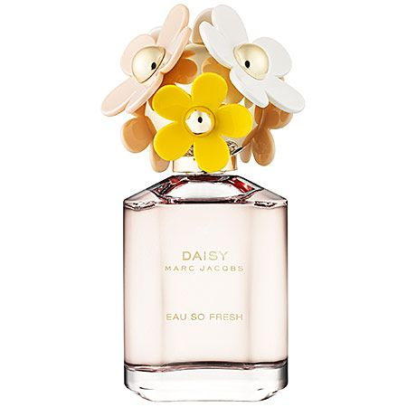 Marc Jacobs Daisy Eau So Fresh bursts with the flirty scent of flowers and the cheerful sweetness of fruits. Find Daisy Eau So Fresh at Sephora today.