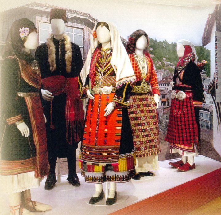 Η παραδοσιακή φορεσιά της Θράκης / The traditional costume of Thrace
