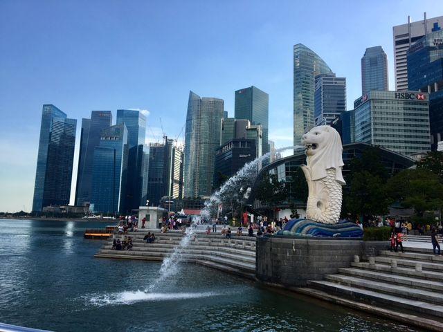 Merlion Park - Singapore 24 Hours Travel Guide