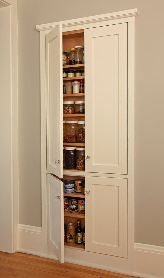 Storage Ideas For Small Kitchens, Hanging Kitchen Cabinets No Studs