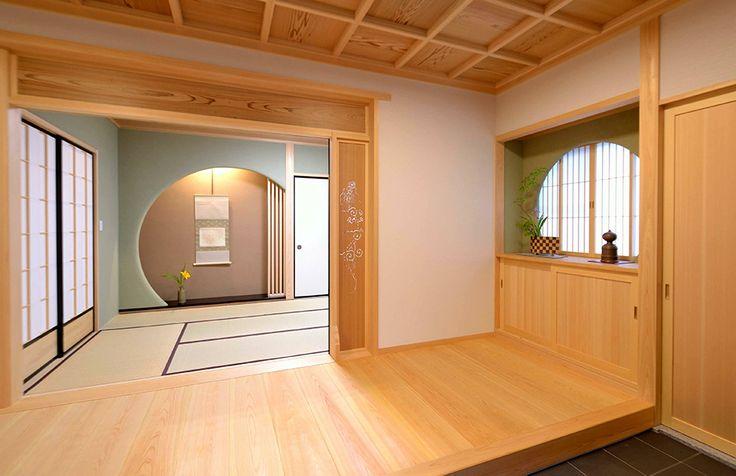 伝統和風から和モダンまで、和風住宅の設計|株式会社菅野企画設計 実績ギャラリー | 本格的な和風二世帯住宅