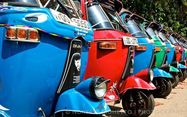 Sri Lankan Tuk Tuk, The most popular mode of transport in Sri Lanka. | Flickr - Photo Sharing!
