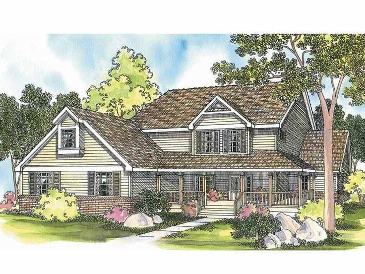 Country house plan with 3314 square feet and 5 bedrooms s for From house design