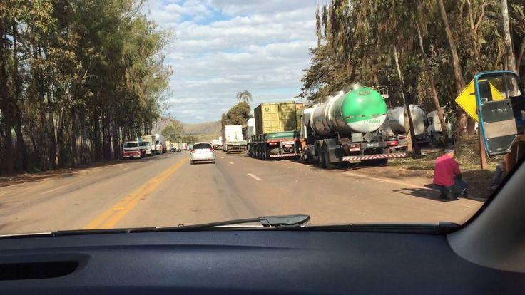 BR 040: Protesto Caminhoneiros. Aumento Gasolina. Fora Temer. IMG_0825. ...