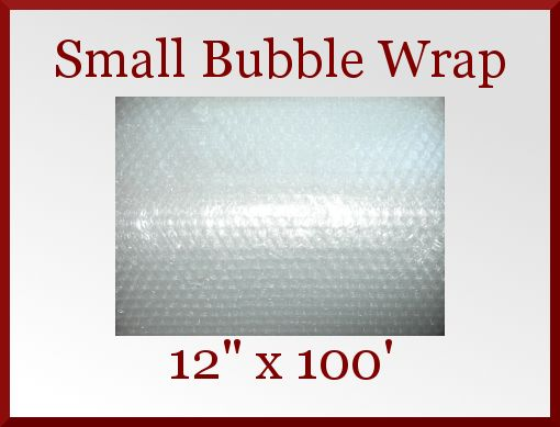 "Sm 3/16"" Bubble Wrap 12"" x 100 ft Perforated Packaging Packing Padding Film Wrap CDVDMart on Bonanza"