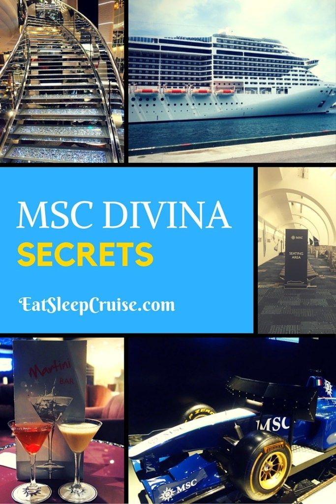 MSC Divina Secrets- Learn all our insider tips to make the most of your cruise on this great ship!