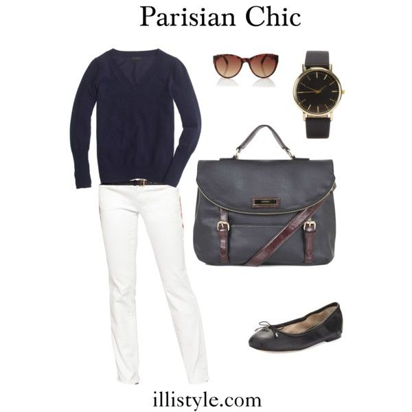 Parisian Chic Book Review and Outfit Ideas