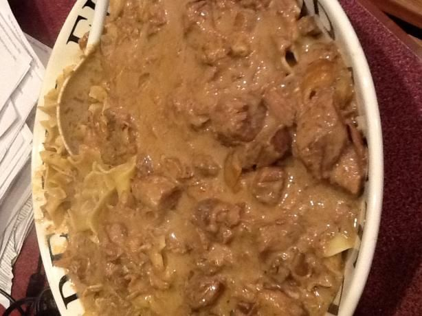 Paula Deen's Slow Cooker Beef Stroganoff. Photo by CIndytc