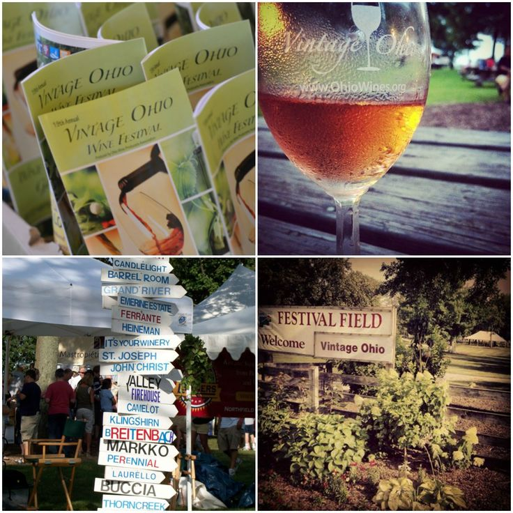 Vintage Ohio! sample wine from dozens of different wineries, enjoy live music, crafters, food trucks, and Friday night fireworks! #festival #wine #Ohio #travel