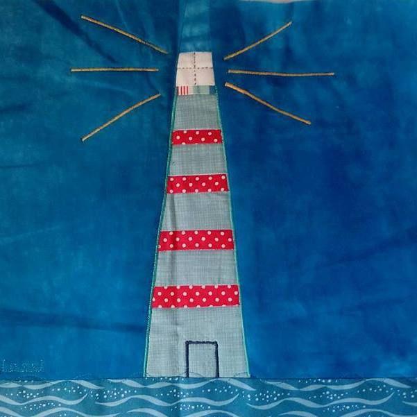 Sea-blocks swap – February/ Ανταλλαγή με θέμα τη θάλασσα – Φεβρουάριος | Mania for quilts