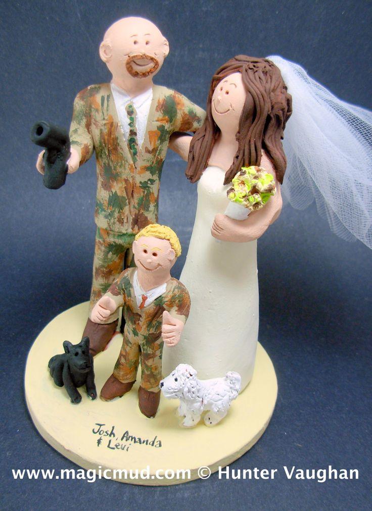 Camo Groom with Pistol Wedding Cake Topper 1 800 231 9814  magicmud@magicmud.com  http://www.magicmud.com  https://twitter.com/caketoppers         https://www.facebook.com/PersonalizedWeddingCakeToppers  $385  #wedding #cake #toppers #custom #personalized #Groom #bride #anniversary #birthday#weddingcaketoppers#cake toppers#figurine#gift#wedding cake toppers #mixedFamily#blendedFamily#stepFamily#stepdad#stepmom#children#kids#family#stepbrother#stepsister