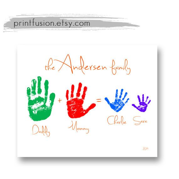38 best gifts newborn baby for mom dad grandparents images on personalized family handprint wall art custom by printfusion 2200 negle Images