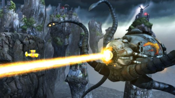 Sine Mora EX out now for Nintendo Switch in North America   Vienna/Austria September 26th 2017: Players around the globe are already on the hunt for highscores in Sine Mora EX on PC PlayStation4 and Xbox One - and now the side scrolling shoot'em up comes to Nintendo Switch console in North America (Rest of the World will follow October 10th). So grab your console and try to beat the challenge mode on the move enioy the story from the comfort of your sofa and you can ask a friend to join and…