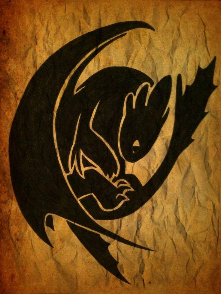NIght Fury | #toothless #banguela #comotreinarseudragão #howtotrainyourdragon #animation #animação #movie #filme #nightfury #illustration #ilustração