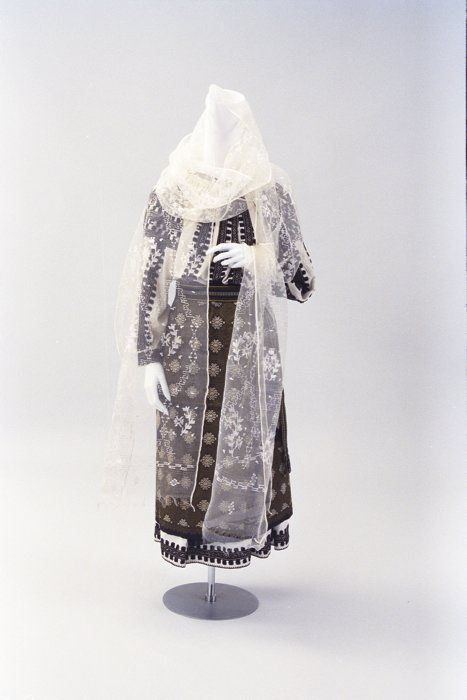 Folk costume, southern Romania, 1970's.