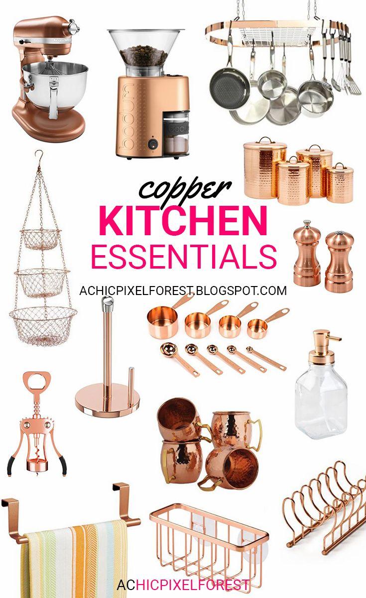 Copper Kitchen Essentials!