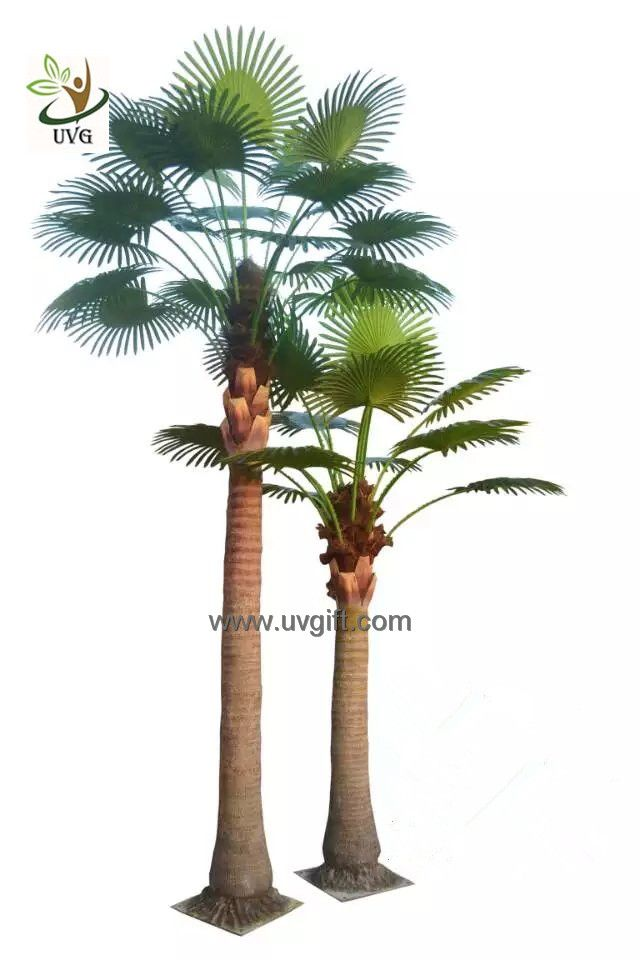 Beautiful UVG PTR048 Factory Price Fake Coconut Palm Tree For Indoor Office  Landscaping; Contact Person: