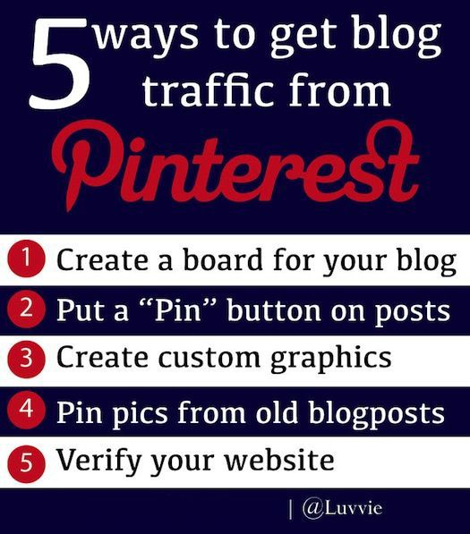 5 things I did that sent made Pinterest bring me more traffic than Facebook and Twitter (which are a close 4 and 5)! Here's how you can do it too.