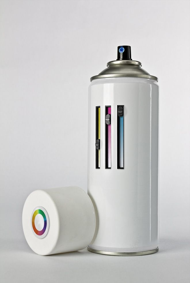CMY color adjustment spray paint - amazing product