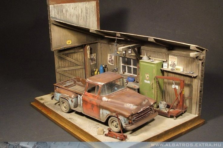 1 24 1 25 Barn Garage Diorama For Sale On Ebay: 287 Best Images About Diorama On Pinterest