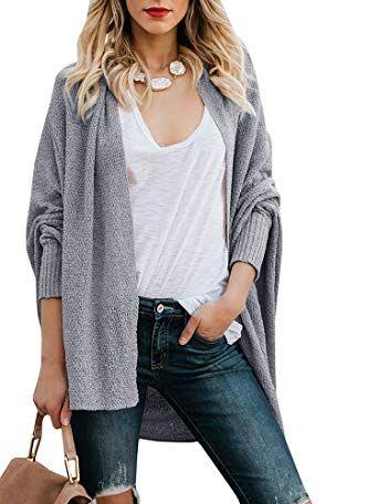 ef722e920f Beautiful Inorin Womens Open Front Cardigans Dolman Long Sleeve Knit Lightweight  Oversized Fall Sweaters online.   31.99  newforbuy from top store
