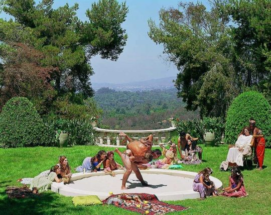 """Eleanor Antin, """"A Hot Afternoon"""" from """"The Last Days of Pompeii,"""" 2001."""