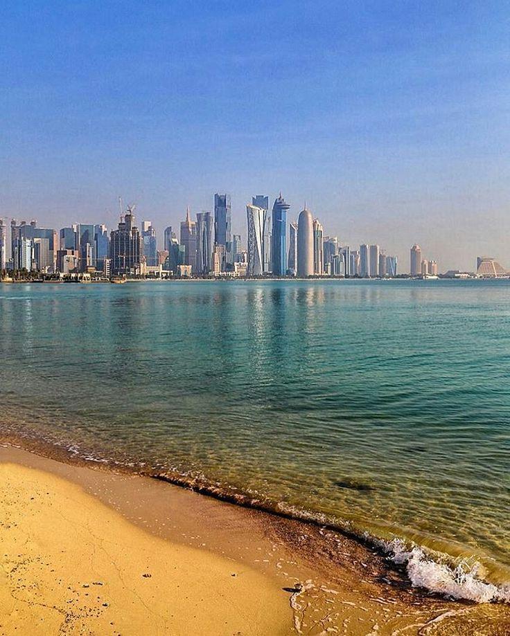 Corniche  #Doha #Qatar @nashplateful  Like  Comment  Tag  TAG YOUR Awesome Photos  #Qatarism