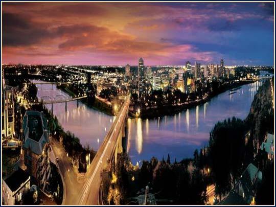 My home city of Saskatoon.