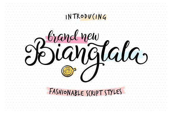 Bianglala Script by Ahya Agawis on @creativemarket