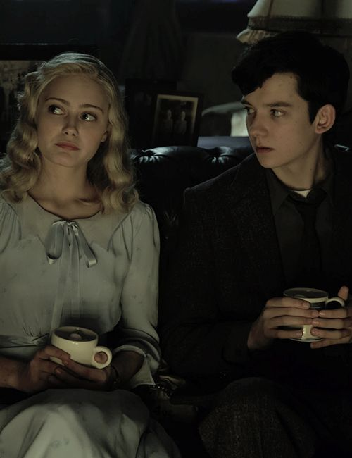 Image result for miss peregrine's home for peculiar children emma