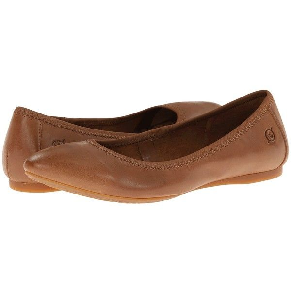 Born Halle Women's Flat Shoes ($95) ❤ liked on Polyvore featuring shoes,  flats