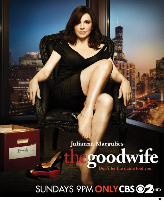 The best lawyer show on television. Julianna Margulies is 'The Good Wife.'
