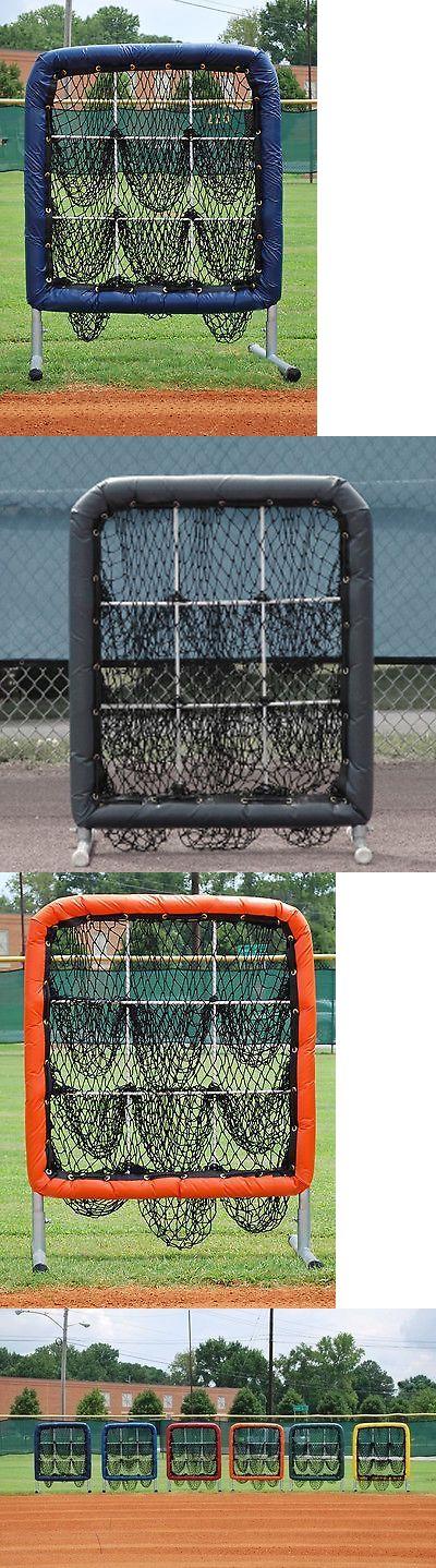 Other Baseball Training Aids 181332: Better Baseball Pitchers Pocket 9 Hole Baseball Softball Pitching Target Navy BUY IT NOW ONLY: $235.0
