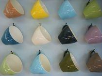 Mmmmmmm, Crown Lynn Colour Glaze cups - drool!!
