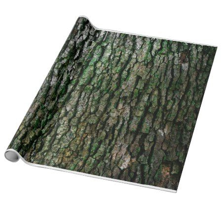 Tree bark texture wrapping paper - tap to personalize and get yours