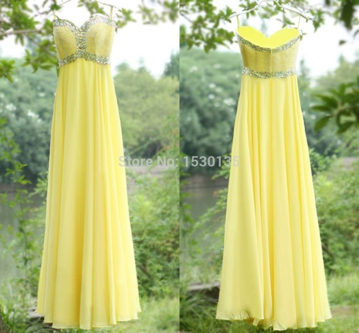 Cheap dresses converse, Buy Quality dress slacks for men directly from China dresses candy Suppliers: Hot sale Crystal Yellow Spaghetti Bridesmaid Sleeveless Party gowns Formal Prom Dresses vestidos de festa 2016 HYD953