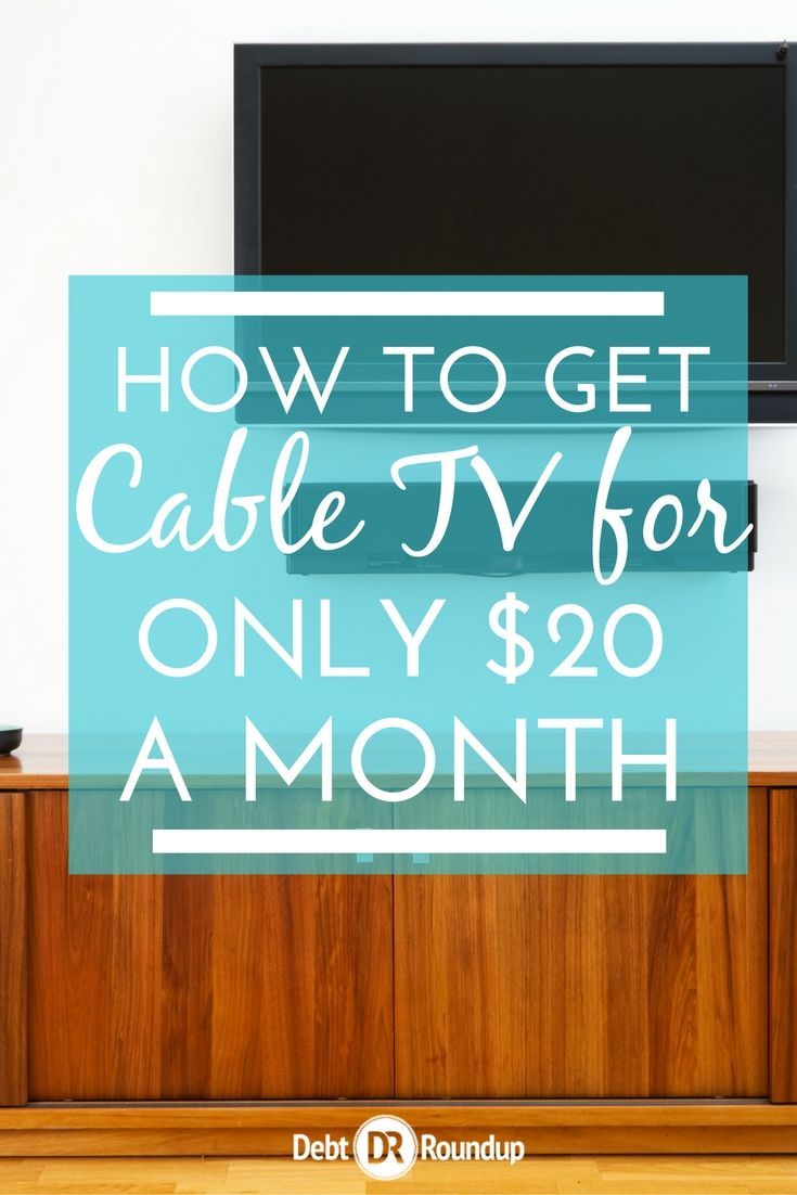 I've cancelled traditional cable in order to save money, but I found an option that only costs me $20 a month and I get access to the channels I want. So awesome and no contracts!!