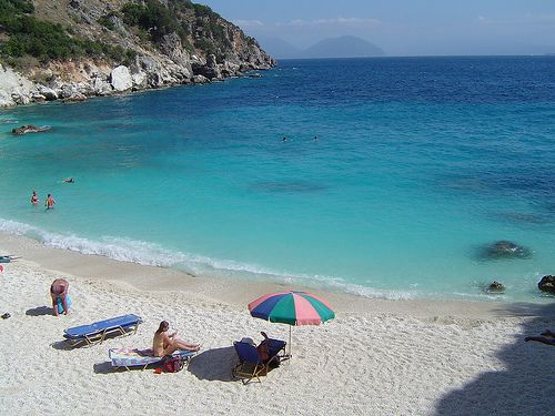 https://www.facebook.com/PoseidonHolidaysAndTours?ref=hl Agiofili beach in Lefkas by