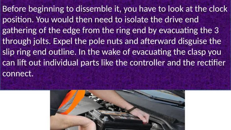 See How Alternators repairs Johannesburg Made Easy     Alternators repairs Johannesburg utilizes either the fitting sort or the eyelet sort terminals and the development has marginally differed throughout the years in spite of the fact that it can be managed.