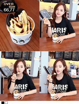 Today's Hot Pick :PARISストレッチビックTシャツ http://fashionstylep.com/SFSELFAA0013545/hkm0977jp/out 伸縮性抜群のビックTシャツ! 人気のるーずなオーバーサイズトップスです、 ホワイト×ブラックのシンプルな配色がポイント☆ どんなアイテムとも合わせやすくとっても実用的です◎ ◆2色:ブラック/アイボリー
