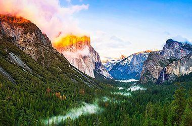 Национальный парк Йосемити – уникальный островок девственной природы