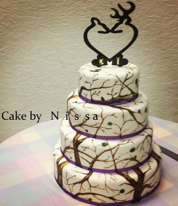 193 Best Images About Cakes Hunting On Pinterest Deer