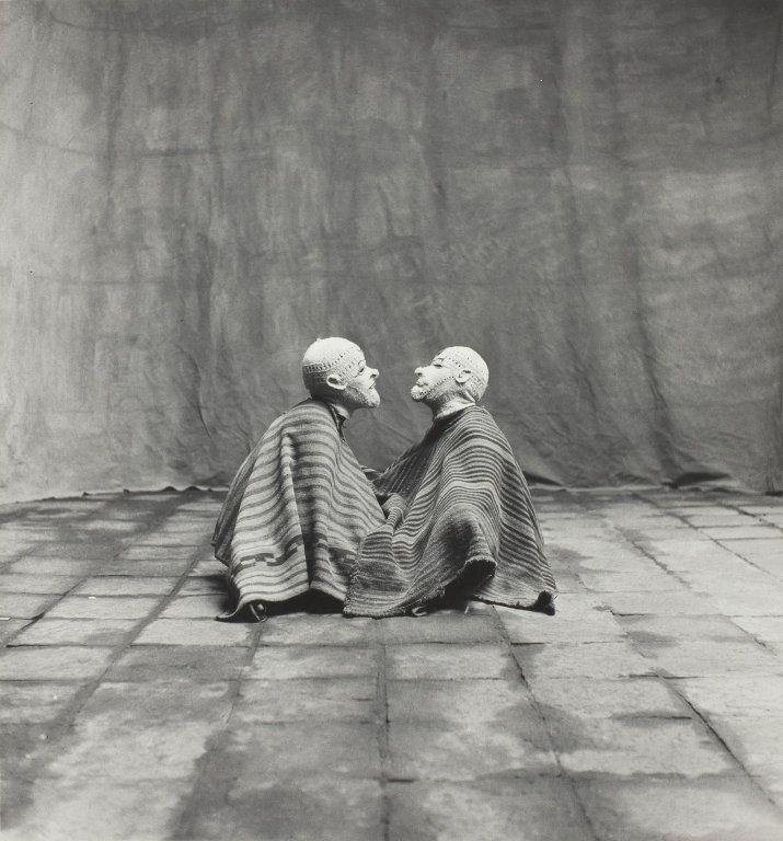 Two Men in White Masks, Cuzco   The Art Institute of Chicago