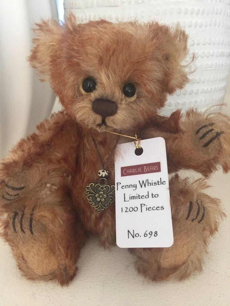 Penny Whistle Minimo Mohair Teddy Bear