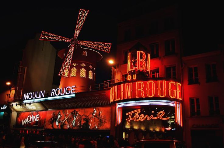 Let's dance at the Moulin Rouge