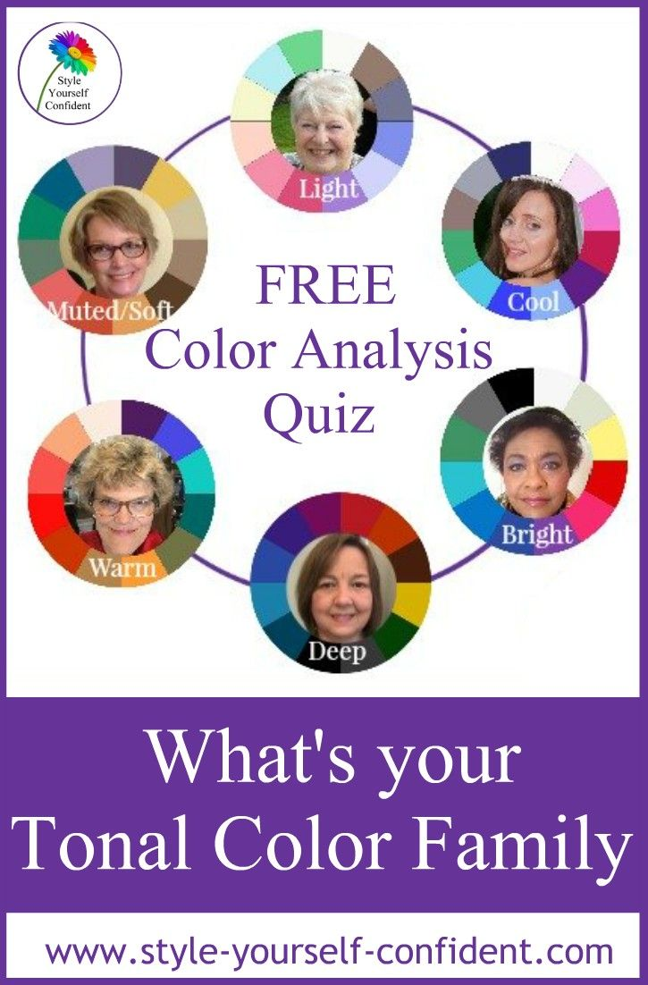 Free Color Analysis With Images Color Analysis Color Seasons Quiz Color Quiz