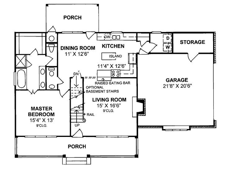 479 best Simple House Plans images on Pinterest | Small house ...